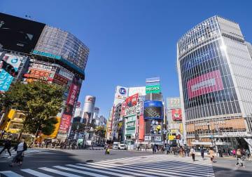 渋谷スクランブル交差点(「Wikipedia」より)