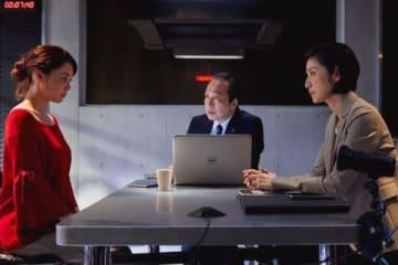 倉科カナさんがゲスト出演する「緊急取調室」第6話の一場面=テレビ朝日提供