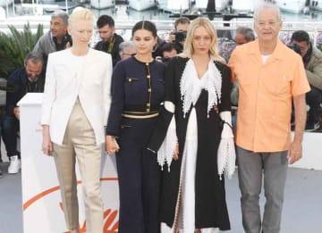 Tilda Switon, Selena Gomez, Chloe Sevigny & Bill Murray Promote 'The Dead Don't Die' At Cannes Film Festival