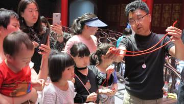 無形文化遺産「古彩戯法」の公開講座開催 遼寧省瀋陽市