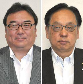 坊野公治氏(左)と大滝文則氏