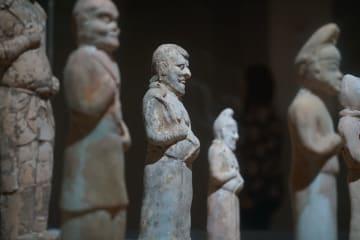 いにしえの邢州窯 陶俑が今に伝える古代シルクロード