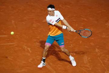 「ATP1000 ローマ」での錦織