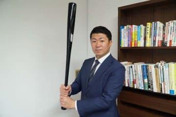 PL学園、明大でプレーし現在は草野球で日本一を目指す武井友孝さん【写真:編集部】