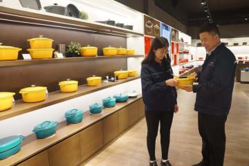 「中国製」鋳鉄鍋、世界市場へ向けた旅