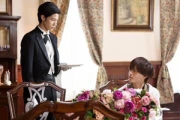 映画「うちの執事が言うことには 」の一場面 (C)2019「うちの執事が言うことには」製作委員会 uchinoshitsuji.com