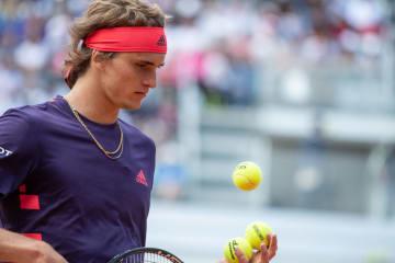 「ATP1000 ローマ」でのズベレフ