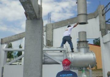 フィリピンのカビテ州に木下築炉の火葬炉1号機を設置