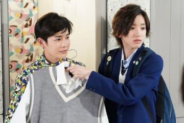 連続ドラマ「俺のスカート、どこ行った?」第5話の場面写真 =日本テレビ提供