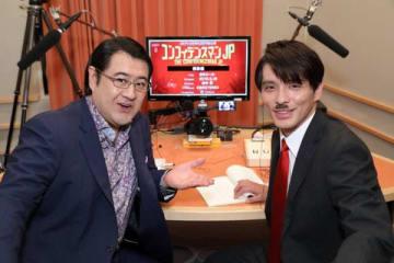 スペシャルドラマ「コンフィデンスマンJP 運勢編」の副音声企画に参加した小手伸也さん(左)と瀧川英二さん(C)フジテレビ