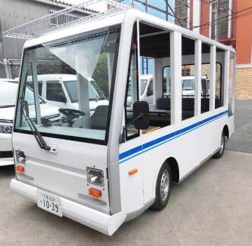 実証実験で使うEVバス