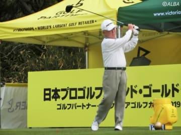 エージシュートを達成した80歳の太田了介(撮影:ALBA)