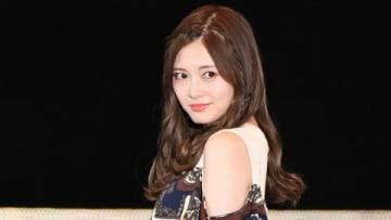 ファッション&音楽イベント「Rakuten GirlsAward 2019 SPRING/SUMMER」に登場した「乃木坂46」の白石麻衣さん