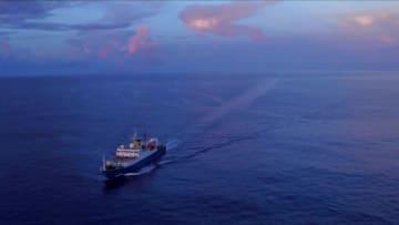 科学調査船「海洋6号」、深海探査の任務終え帰還 広州
