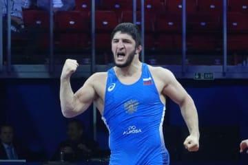 欧州大会への出場が決まったアブデュラシド・サデュラエフ(ロシア)