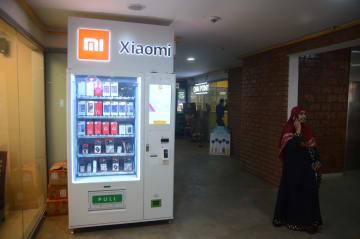 シャオミ、インドにスマホ自販機を導入