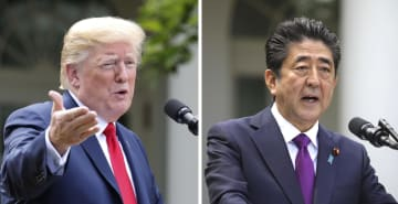 Abe, Trump unlikely to issue joint statement talks in late May