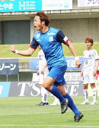 カターレ快勝 G大阪23に3−1