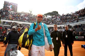 「ATP1000 ローマ」でのナダル