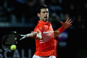 「ATP1000 ローマ」でのジョコビッチ