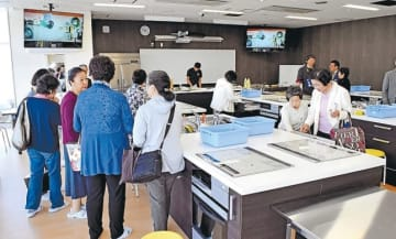 新しくできた料理スタジオ