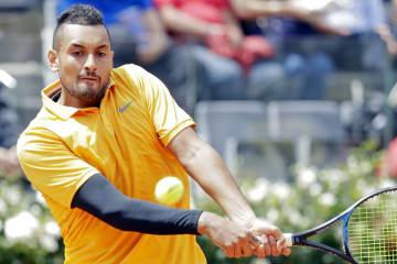 「ATP1000 ローマ」でのキリオス