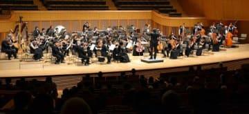 熱演を披露した札幌フィルハーモニー管弦楽団の定期演奏会