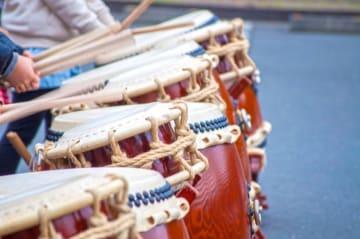 「和太鼓の無料体験教室」世界で活躍するプロの講師から学ぶ@秦野市文化会館ホワイエ
