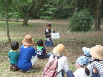清々しい新緑を楽しむ自然体験「ネイチャーゲーム」参加無料@県立座間谷戸山公園