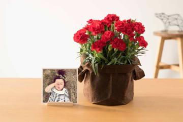 スマホですぐに注文できる!写真とお花のギフトセットを母の日に