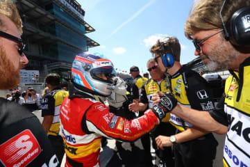予選14番手から10度目のインディ500に挑む琢磨「レース後半で良い車になるように仕上げたい」