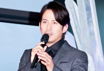 東京スカイツリーでのトークショー、点灯式に登壇した岡田准一