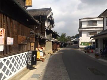 江戸時代のたたずまいを残す有松地区