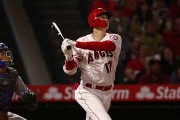 日本時間19日に今季2号本塁打を放ったエンゼルス・大谷翔平【写真:Getty Images】