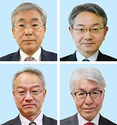 (上段左から)浦本元人氏、中野祐介氏、(下段左から)土屋俊亮氏、小玉俊宏氏
