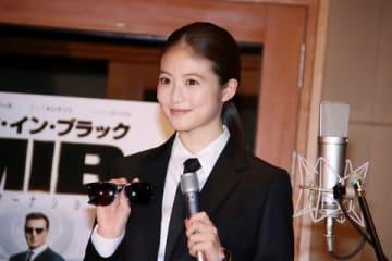 映画「メン・イン・ブラック:インターナショナル」のアフレコイベントに出席した今田美桜さん