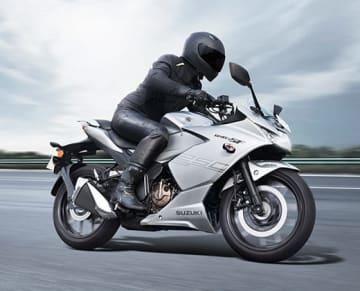 ジクサーSF250=スズキ・モーターサイクル・インディア提供