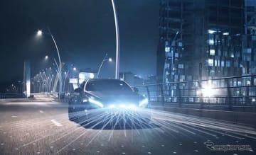 ZFが開発する自動車業界初のソリッドステートLiDARシステムのイメージ