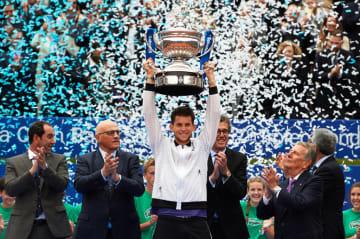 写真は2019「ATP500 バルセロナ」でのティーム