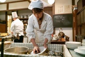 NHK連続テレビ小説「なつぞら」第45回の一場面(C)NHK
