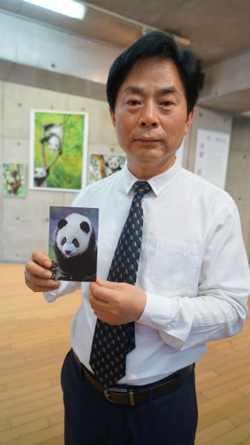 中国人カメラマン、東京でパンダ写真展開催