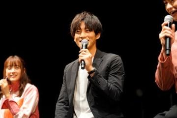 連続ドラマ「パーフェクトワールド」のイベントに登場した松坂桃李さん=カンテレ提供
