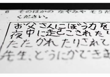 千葉・野田の女児死亡 虐待を訴えた心愛さんの自筆アンケート(写真:毎日新聞社/アフロ)