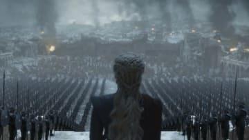 サーセイ軍との戦いを終えたデナーリスら。「ゲーム・オブ・スローンズ」最終章より - Photo: Courtesy of HBO