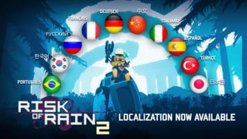 協力プレイ対応ローグライクACT『Risk of Rain 2』日本語を含む10言語に対応!