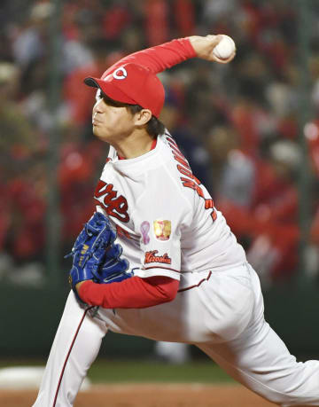 Baseball: CL leader Hiroshima beats Chunichi 3-2