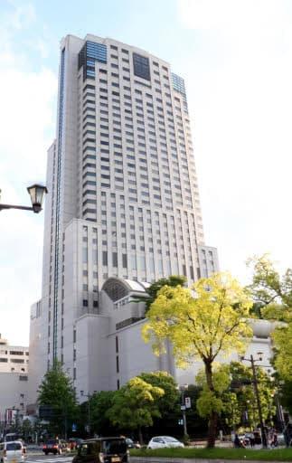 広島市内にあるシティーホテルの一つ、リーガロイヤルホテル広島。稼働率は高い傾向にある