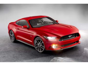 フォードを代表するポニーカーのマスタング。14年に発表した新型で、右ハンドル仕様も製作されたが、遂に日本への導入はなかった