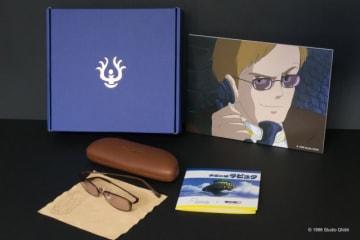 「目が…!」でおなじみムスカのサングラスを再現。※写真パネルは付属しません。本商品は開発中であり、実際の商品に変更がある場合があります - (C) Studio Ghibli
