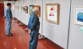 美協会員らの力作が並ぶ「春の小品展」
